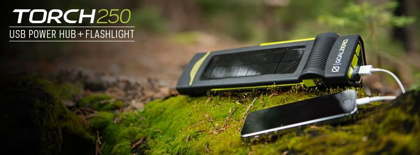 USB Power Hub Flashlight соларен фенер