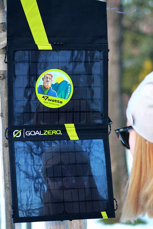Solar.Ko и соларен панел Nomad 7 - задължителна част от оборудването на всеки авантюрист