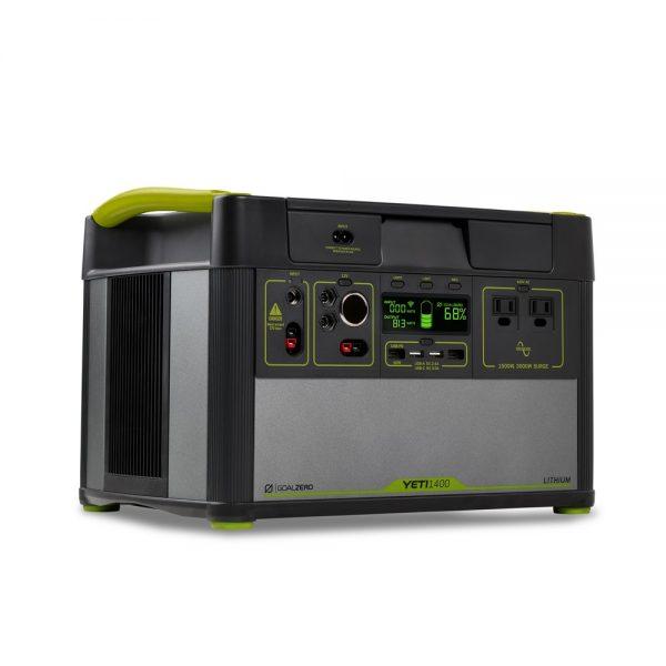 Соларен генератор Goal Zero Yeti 1400 Lithium (1425Wh, 10.8V, 132Ah)