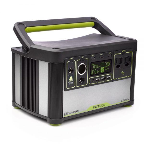 Соларен генератор Goal Zero Yeti 400 Lithium (428Wh, 10.8V, 39.6Ah)
